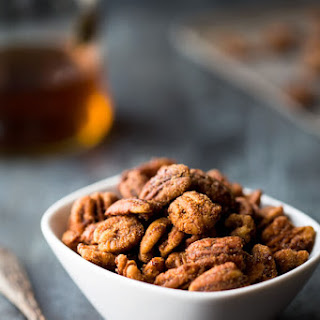 Sugar and Spice Brandy Pecans
