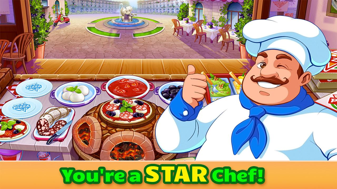 Cooking craze a fast fun restaurant chef game for Big fish cooking games