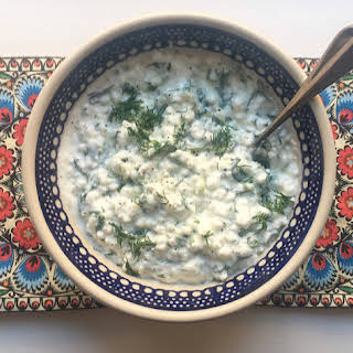 Cottage Cheese with Herbs.