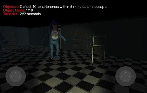 One night of jumpscare animatronic 3.5 screenshots 1