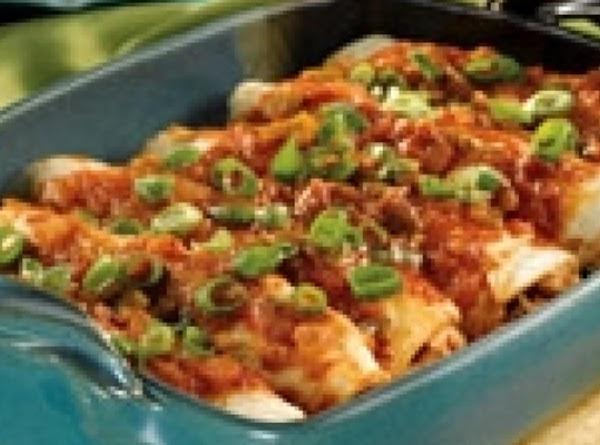 Picante Chicken Enchiladas Recipe