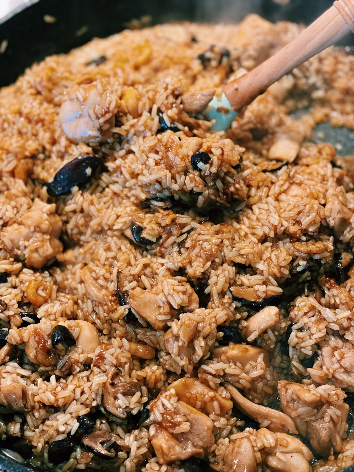 How to make taiwan oil rice