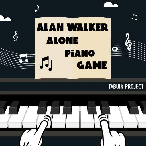 Alan Walker Alone Piano Game