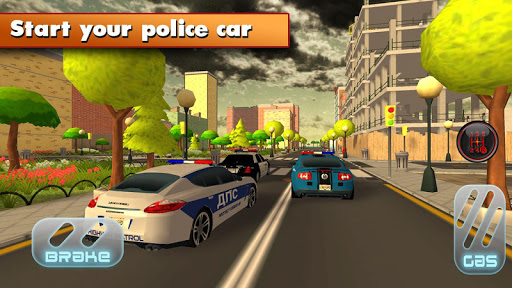 Racing Police Highway 3D