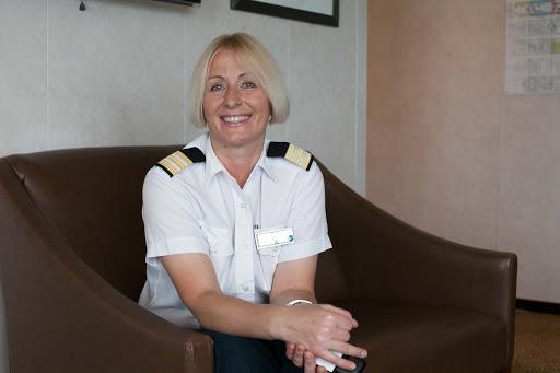Mila-Miroschnychenko-on-Celebrity-Infinity - Mila Miroschnychenko, head of housekeeping aboard Celebrity Infinity.