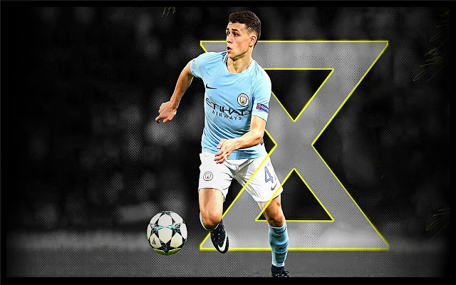 Phil Foden Themes & New Tab