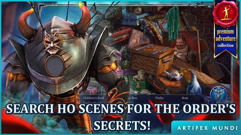 Grim Legends 3: The Dark City Screenshot 1
