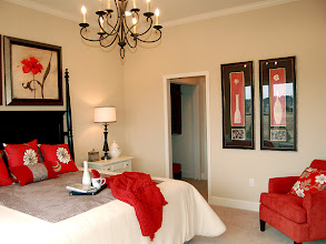 Photo: The master bedroom in our CATALINA model townhome at The Havilands