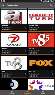 Mobil Android TV Screenshot