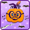 Piano Halloween Tiles : Night American Scary Game icon