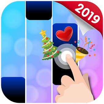Mod Hacked APK Download Holiday Tiles 2 - Piano 2019 Jam mp3