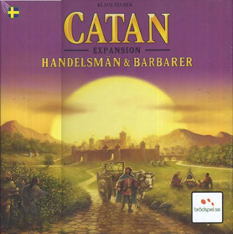 Catan 5th ed Handelsmän & Barbarer (SE)