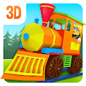 3D Toy Train Game For Kids icon
