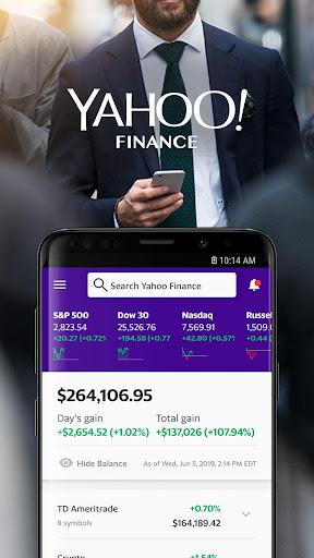 Yahoo Finance: Real-Time Stocks & Investing News 7.0.6 screenshots 1