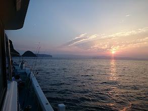 Photo: 遠征ジギングでしたが、五島方面 波風が強いので、「近海ジギング」に変更。