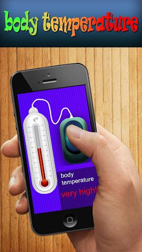 Pocket Body temperature prank