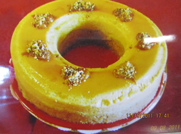 Peanut Butter Cake - Flan Recipe
