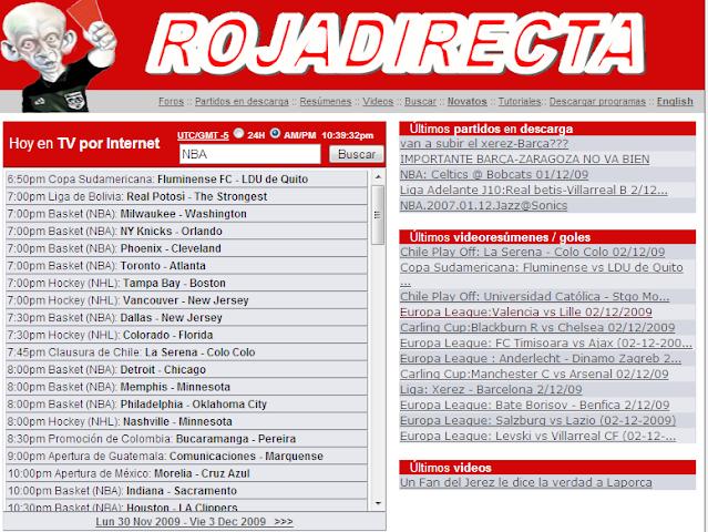 android Rojadirecta Pro Screenshot 1