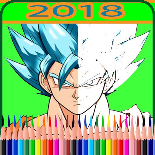 coloring for super saiyan hero