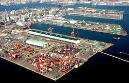 Морской порт Кобе
