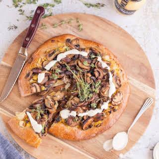 Mushroom & Leek Brioche Tart.