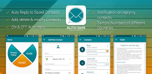 Auto text message response : Auto texting service - Apps en