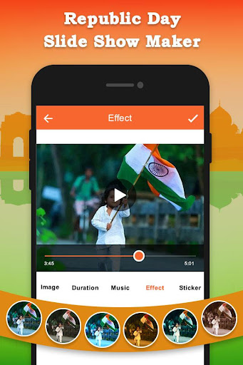 Republic Day Slideshow Maker - 26 Jan Movie Maker 1.0 screenshots 4