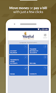 Mobile Banking - Youghal Credit Union
