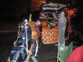 Photo: some trunk set ups were quite elaborate