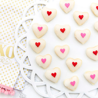 Valentine's Day Heart Petit Fours