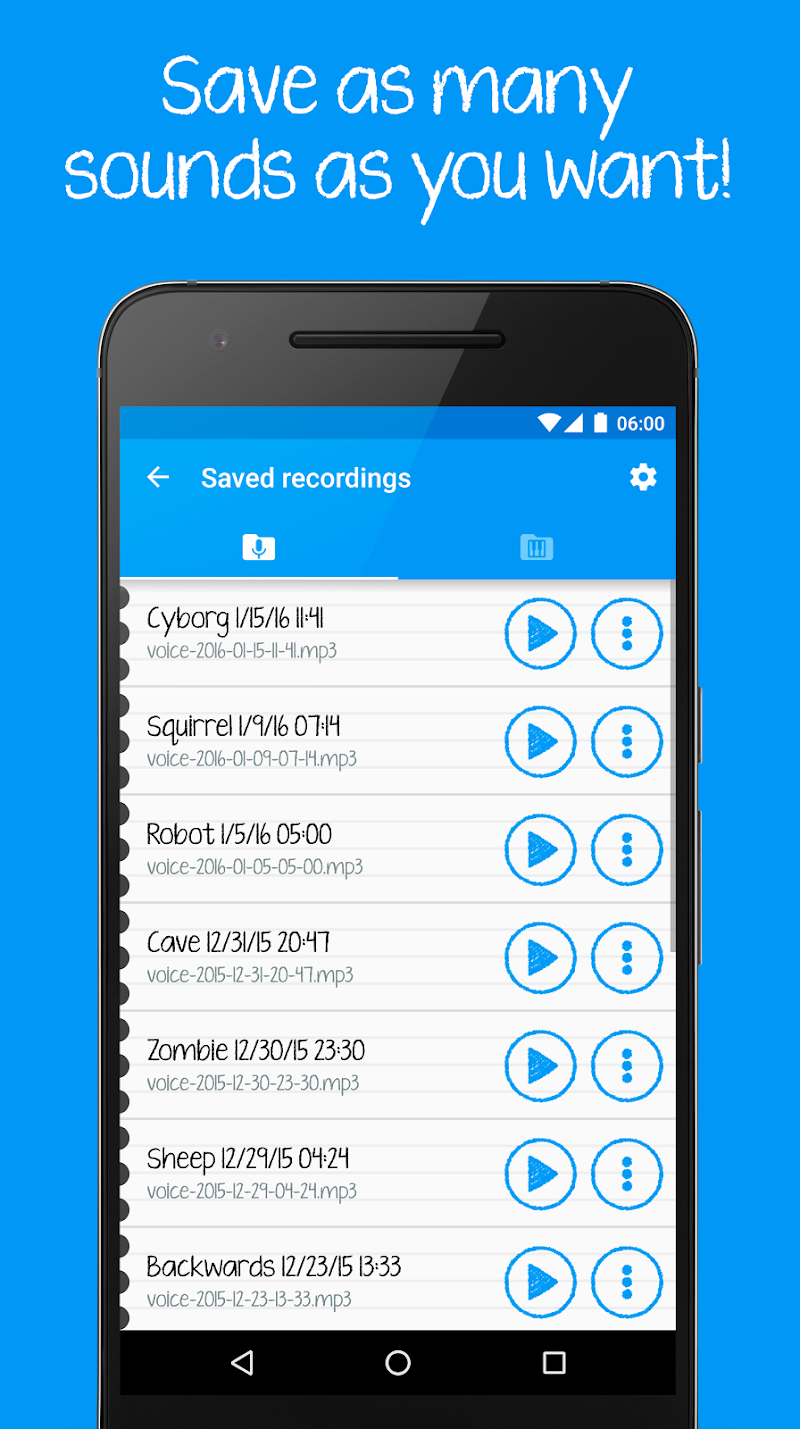 Voice changer for kids and families Screenshot 6