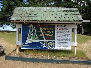 Photo: Campground at Harwood Point on Mouat Bay - Texada Island.