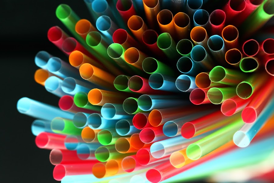 PLASTIC STRAWS by Almas Bavcic - Artistic Objects Other Objects