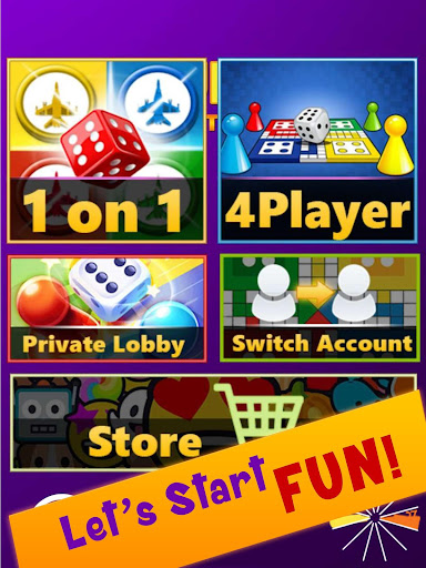 Ludo Club King : Free Multiplayer Dice Game android2mod screenshots 15