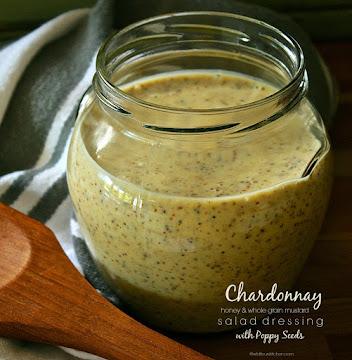 Chardonnay, Mustard & Honey Salad Dressing Recipe