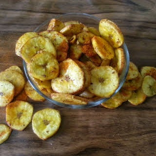 Banana Chips or Banana Wafers.