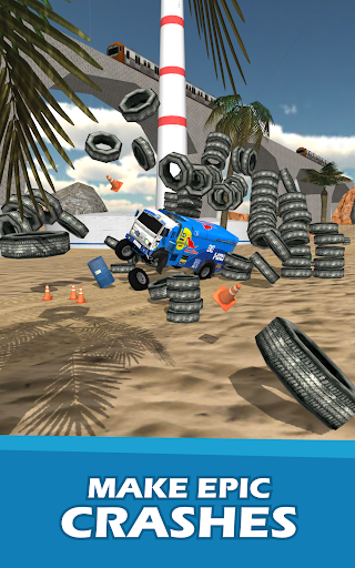 Stunt Truck Jumping screenshot 8
