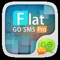 (FREE)GO SMS FLAT THEME icon