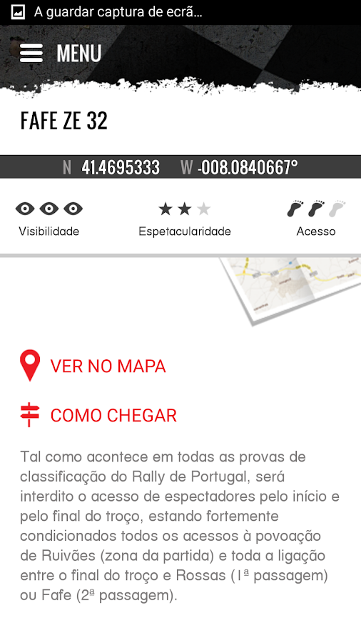 Vodafone Rally de Portugal- screenshot