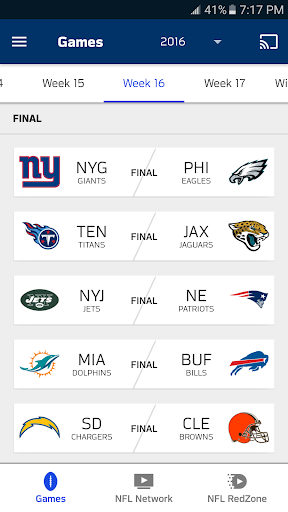 NFL Game Pass Intl 8.1218 screenshots 1
