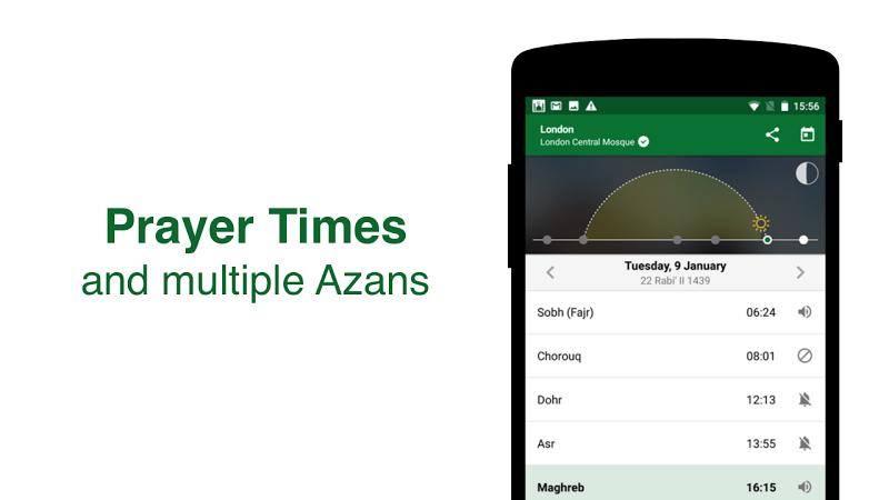 Muslim Pro - Prayer Times, Azan, Quran & Qibla Screenshot 11