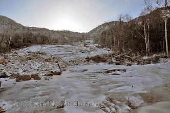 Photo: Heading up the steeper segment.