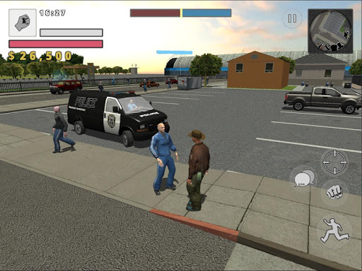 Police Cop Simulator. Gang War apkmr screenshots 18