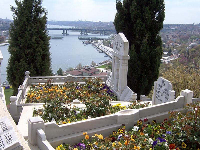 Istanbul, cimitero sul Corno d'Oro di lucaldera