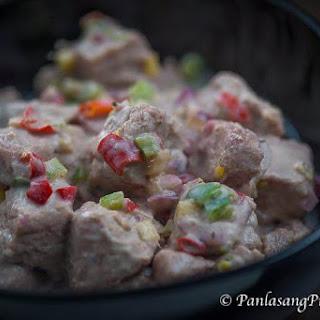 Kilawing Tuna with Coconut Cream (Fish Ceviche) Recipe