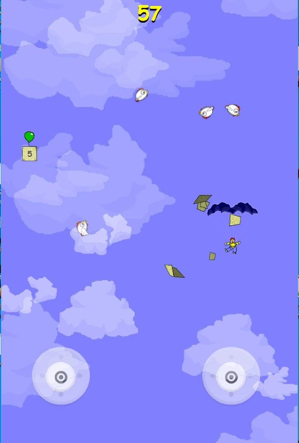 Skydiver extreme- screenshot