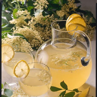 Fresh Elderflower Juice.
