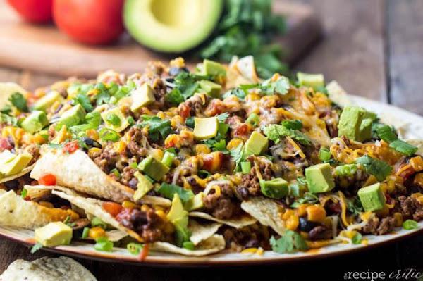 Beefy Enchilada Nachos Recipe