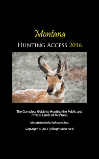 Montana Hunting Access 2016- screenshot thumbnail