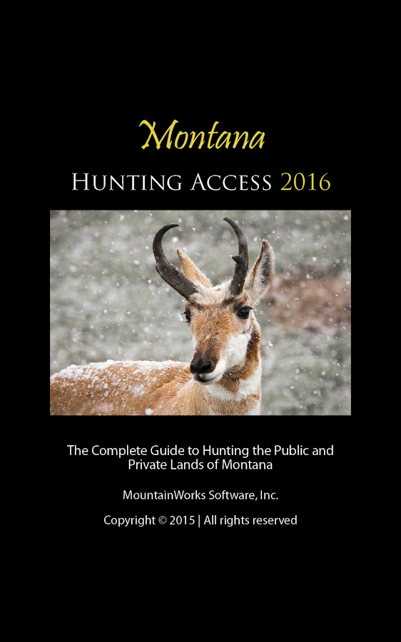 Montana Hunting Access 2016- screenshot